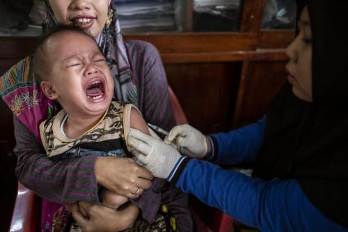 Immunization Program at Slum Area in Jakarta