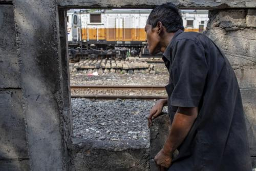 Daily Life of Slump Area in Jakarta